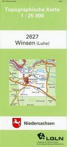 Winsen (Luhe) 1 : 25 000. (TK 2627/N)