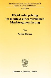 IPO-Underpricing im Kontext einer vertikalen Marktsegmentierung