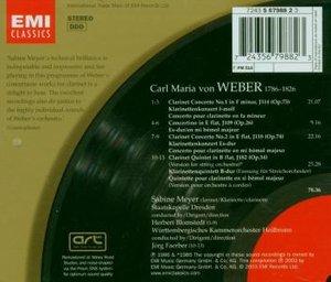 Meyer/SD/Blomstedt/WUKO/Faerber: Klarinettenkonzerte/Quintet