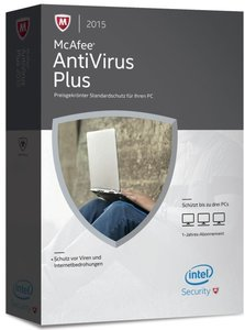 McAfee AntiVirus Plus 2015 3PC