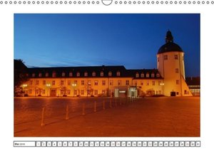Blaue Stunde im Siegerland (Wandkalender 2016 DIN A3 quer)