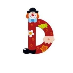 Sevi 81740 - Buchstabe: Clown D - zum Schließen ins Bild klicken