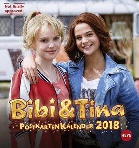 Bibi & Tina Postkartenkalender - Kalender 2018