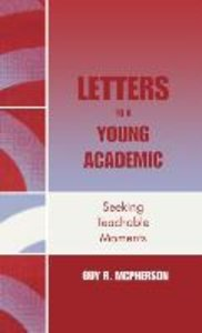 Letters to a Young Academic