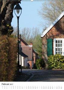 Rysum, ein Dorf in Ostfriesland (Wandkalender 2017 DIN A2 hoch)