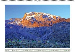 Entdeckungen am Kilimandscharo (Wandkalender 2016 DIN A2 quer)