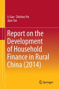 Report on the Development of Household Finance in Rural China (2