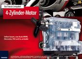 4-Zylinder-Motor - zum Schließen ins Bild klicken