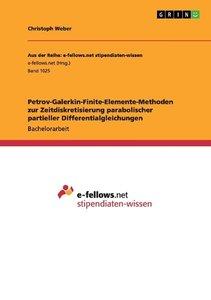 Petrov-Galerkin-Finite-Elemente-Methoden zur Zeitdiskretisierung