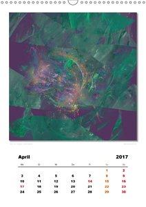 Ästhetisches Chaos - Phantasien (Wandkalender 2017 DIN A3 hoch)