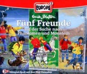 Fünf Freunde Box 17 ... auf der Suche nach Phantomen und Monster