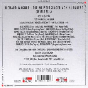 Die Meistersinger Von Nürnberg-Erster Teil