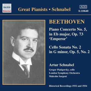 Klavierkonzert 5/Cellosonat
