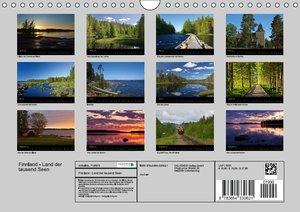 Finnland - Land der tausend Seen (Wandkalender 2016 DIN A4 quer)