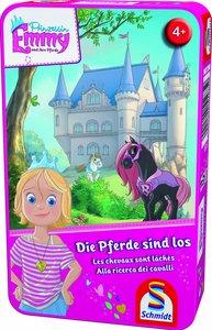 Prinzessin Emmy: Die Pferde sind los. Reisespiel in der Metalldo