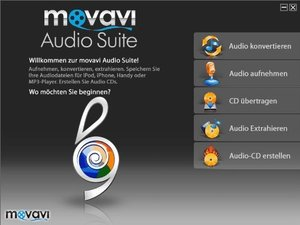 movavi Audio Suite. Für Windows 7 und 8, Vista, XP (jeweils 32-