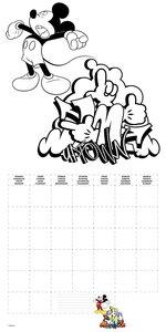 Walt Disney Mickey Mouse - Do it yourself!: Malkalender 2016