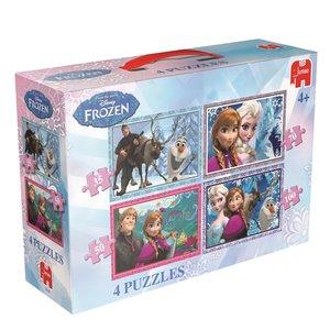 Disney Frozen 4in1 Puzzle - 35/50/70/100 Teile