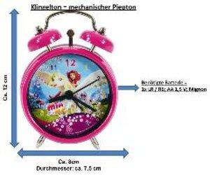 Mia & Me - Wecker - Ø 7,5 cm