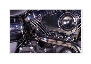 Emotional Moments: Harley Davidson - Wide Glide. UK-Version (Pos