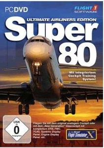 Flight Simulator X (FSX) - SUPER 80 Ultimate Airliner Edition (A