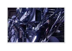 Emotional Moments: Harley Davidson - Wide Glide. UK-Version (Pos