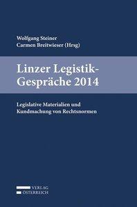 Linzer Legistik-Gespräche 2014