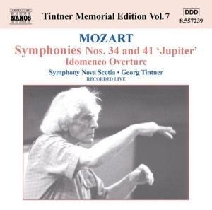 Sinfonien 34+41/Idomeneo