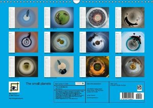 The small planets (Wall Calendar 2015 DIN A3 Landscape)