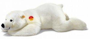 Steiff 115110 - Arco Eisbär, weiß, liegend, 45cm