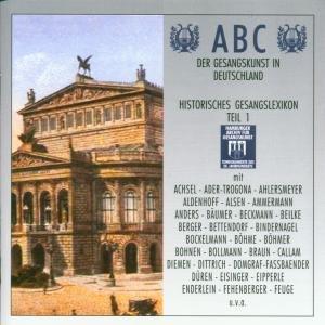 Abc Der Gesangskunst Teil 1