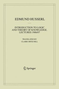 Introduction to Logic and Theory of Knowledge