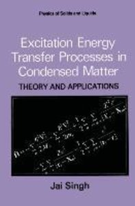 Excitation Energy Transfer Processes in Condensed Matter