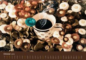 Coffein (Wandkalender 2016 DIN A2 quer)