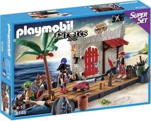 PLAYMOBIL 6146 Super Set Piratenfestung