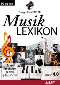 Das große Metzler Musiklexikon - Version 4.0