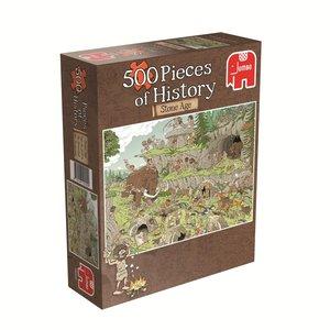 Pieces of History - Die Steinzeit. Puzzle 500 Teile