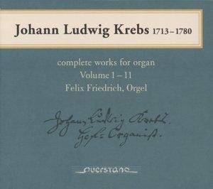 Sämtliche Orgelwerke Vol.1-11 (GA)