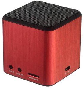 LASMEX PC-Lautsprecher S-01XL, dunkelrot