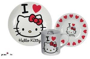 p:os 68165 - Hello Kitty: Frühstücksset