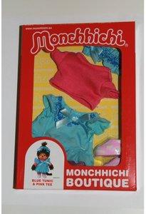 Monchhichi Boutique Tunika mit Shirt, 20 cm