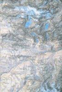 DAV Karte 0/9 Cordillera Real Süd (Illimani - Bolivien) 1 : 50 0