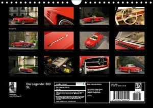 Die Legende: 300 SL (Wandkalender 2015 DIN A4 quer)