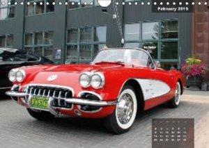 US Classic Cars (Wall Calendar 2015 DIN A4 Landscape)