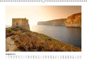 Gorgeous Malta and Gozo (Wall Calendar 2015 DIN A3 Landscape)