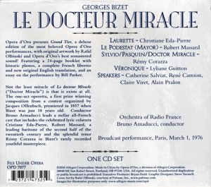 Le Docteur Miracle (Paris 1976)