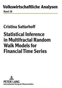 Statistical Inference in Multifractal Random Walk Models for Fin