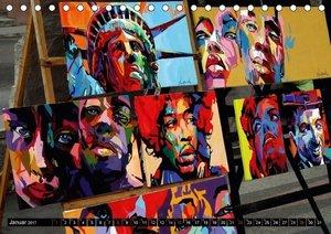 PRADO - Kubas Kunstmeile (Tischkalender 2017 DIN A5 quer)