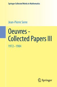 Oeuvres - Collected Papers III