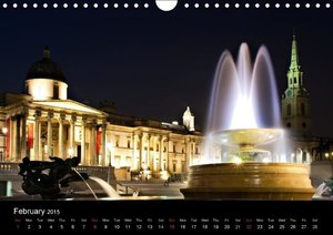 London - Night Shots (Wall Calendar 2015 DIN A4 Landscape)